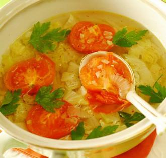 Διαιτητική σούπα της Catherine Zeta-Jones